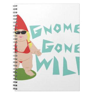 Gnome Wild Note Book