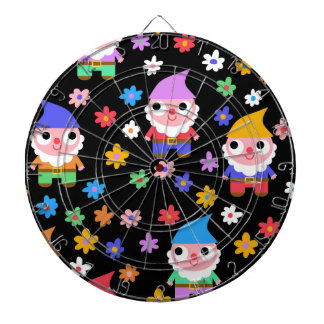 gnomes dartboard