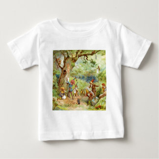 Gnomes, Elves and Fairies in the Magical Forest Baby T-Shirt