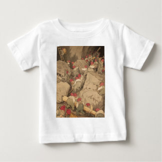 Gnomes Mining in a Cave T Shirts