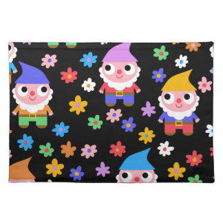 gnomes placemat