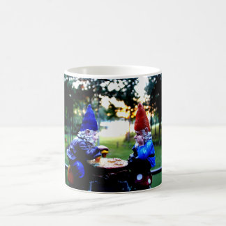 Gnomes Playing Checkers Mug