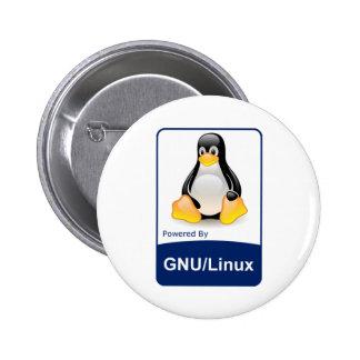 GNU/Linux 6 Cm Round Badge
