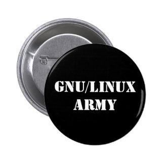 GNU/Linux Army 6 Cm Round Badge