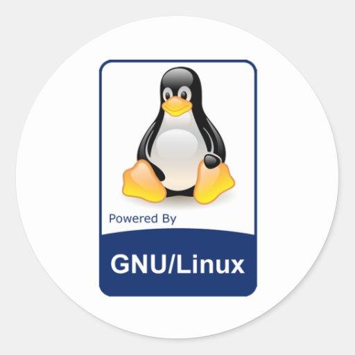 GNU/Linux Stickers