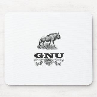 gnu power mouse pad