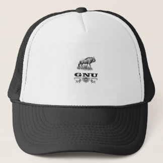 gnu power trucker hat