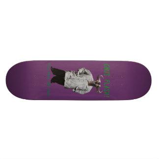 Gnus Flash! STAY BACK 300 FEET! 18.1 Cm Old School Skateboard Deck