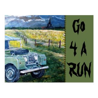 Go 4 A Run Postcard