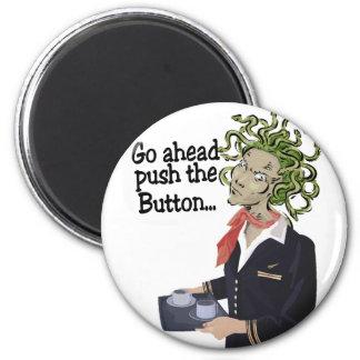 go ahead 6 cm round magnet