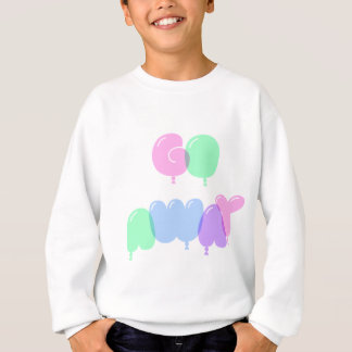 Go Away Bubble Letters Sweatshirt