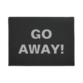 Go Away! Doormat