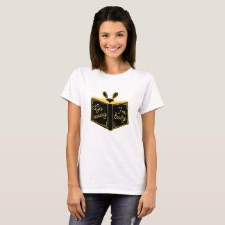 Go Away, I'm Busy T-shirt, bookworm T-shirt
