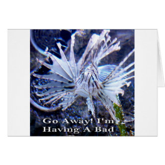 Go Away I'm Having A Bad Day Shirts, Hats, Gifts Card