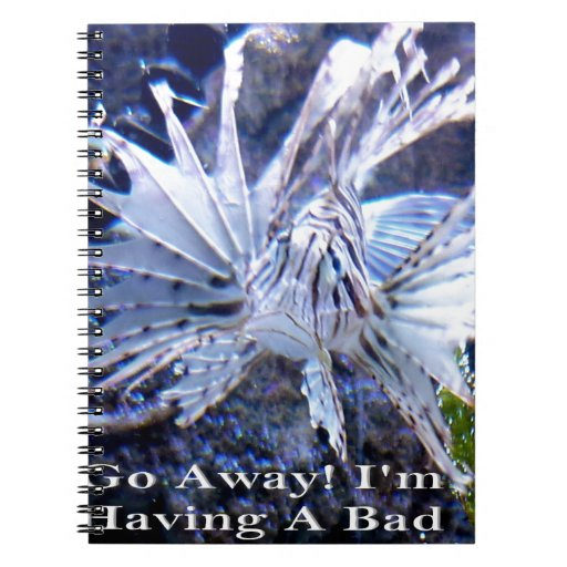 Go Away I'm Having A Bad Day Shirts, Hats, Gifts Notebooks
