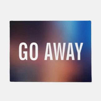 Go Away - Introvert Funny Doormat