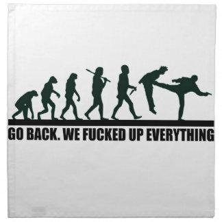 GO BACK. NAPKIN