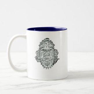 Go Be Stupid On Someone Else's P... Two-Tone Mug