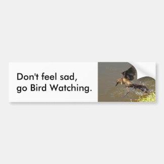 Go bird watching Bumper Sticker