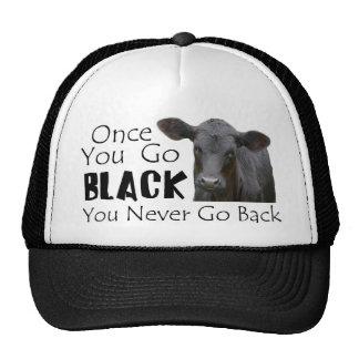 Go Black Angus Cap