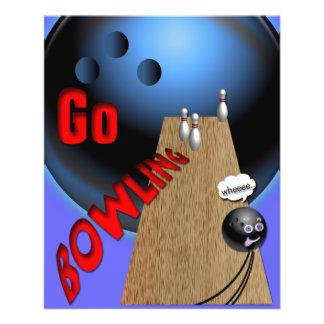 Go Bowling 11.5 Cm X 14 Cm Flyer