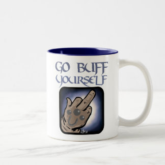 Go Buff Yourself Two-Tone Coffee Mug