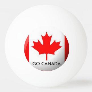 GO CANADA PING PONG BALL
