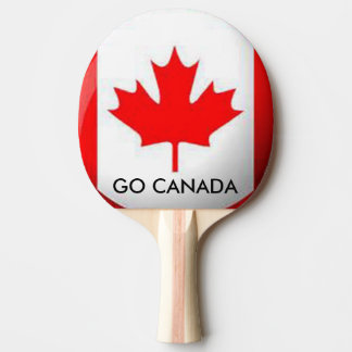 GO CANADA PING PONG PADDLE
