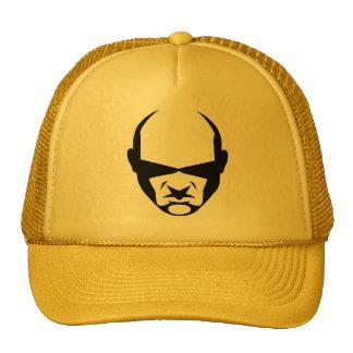 .:GO:. Cap yellow with logo Mesh Hats