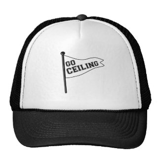 "Go Ceiling ""Ceiling Fan"" Halloween Costume Cap"