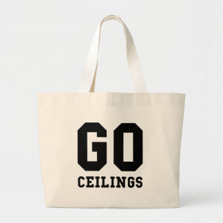 Go Ceilings Fan Jumbo Tote Bag