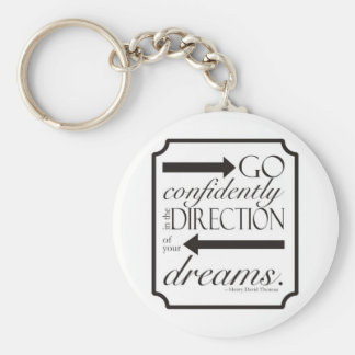 Go Confidently Key Ring