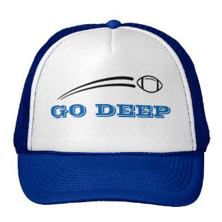 GO DEEP FOOTBALL HAT