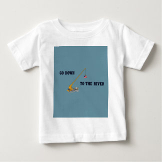 Go down to the river baby T-Shirt