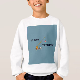 Go down to the river sweatshirt