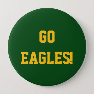Go Eagles 10 Cm Round Badge