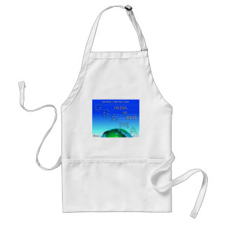 Go East, Young Man Standard Apron