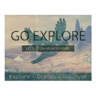 Go Explore Postcard