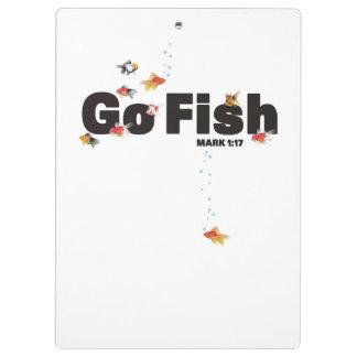 Go Fish Clipboard