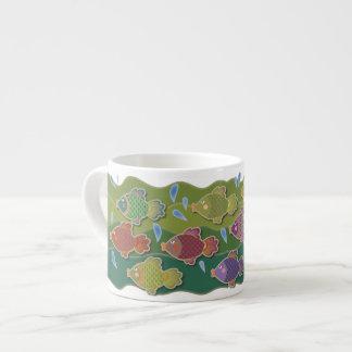Go Fish Green Expresso Mug Espresso Mug
