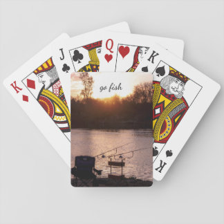 Go Fish-ing trip Playing Cards