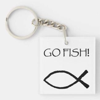 Go Fish Key Ring