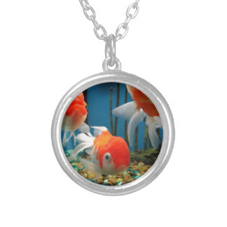 Go Fish Silver Plated Necklace
