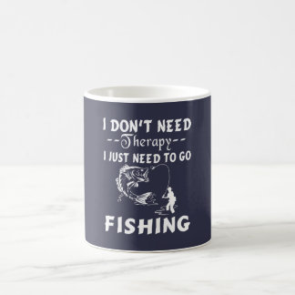 GO FISHING COFFEE MUG
