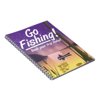 Go Fishing! Notebook
