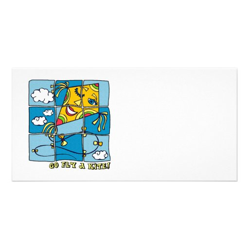 Go Fly a Kite 4 Personalized Photo Card
