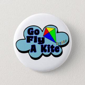 Go Fly A Kite 6 Cm Round Badge