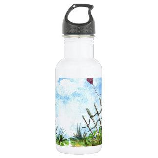 Go Fly A Kite - watercolor 532 Ml Water Bottle