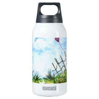 Go Fly A Kite - watercolor Insulated Water Bottle