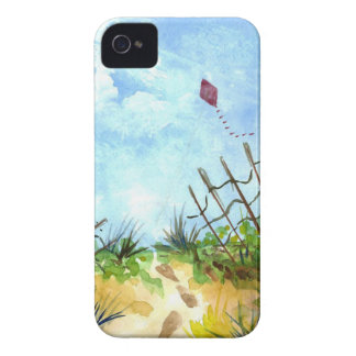 Go Fly A Kite - watercolor iPhone 4 Case